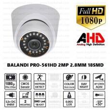 Balandi PRO-561HD 2MP 2.8mm 18Smd AHD Dome