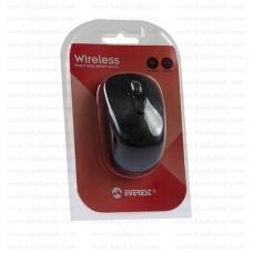 Everest SM-834 Usb Siyah Optik Kablosuz Mouse  1600dpi